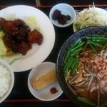 台湾料理 香林坊 - Aランチ。今日は角煮。