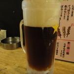 野方屋 - コーヒー酎の黒ホッピー割り
