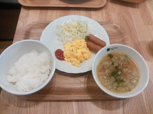 ベリー ベリー スープ アパホテル浅草橋店 - 朝食 700円