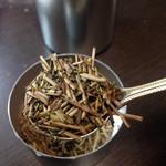 天野茶店 - 天野茶店の独自焙煎。香ばしく、飲んでいると甘みも引き出される