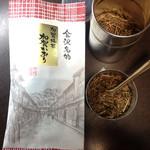 天野茶店 - 加賀棒茶「加賀かおり」100g(500円) 天野茶店