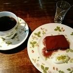 カフェ・ラ・バスティーユ - チョコレートのテリーヌ