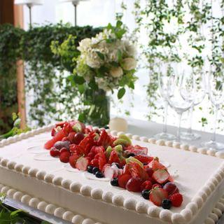 特製ケーキ付ゲストへ贈る祝福プラン