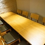 もつ吉 - 個室席は最大8名まで