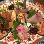 日本酒スローフード 方舟 - 刺身盛合せ