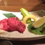 日本酒スローフード 方舟 - 氷見牛の溶岩焼き