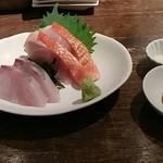 AGURI GOOD MOON - 金目鯛スモーク  昆布〆  &  〆鯖