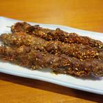 42459337 - ラム肉串(150円・外税)×3