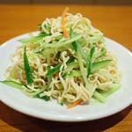 42459338 - 押し豆腐の千切り和え(380円・外税)