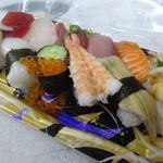 さかなやのmaru寿司 - お寿司盛り合わせ