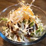 麺鮮醤油房 周月 - 野菜サラダ〜(*^◯^*)