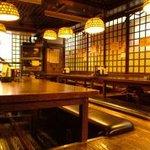 横浜すきずき - 座敷は掘りごたつ50名様まで宴会予約承ります。