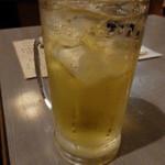 居酒屋 きらく - 緑茶ハイ(400円)