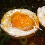 三谷製麺所 - つけめん(玉子)