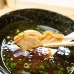 三谷製麺所 - つけめん(鶏モモ肉)