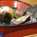 天五屋 - メジロ(鰤) 刺身