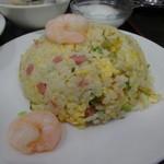 中華料理 大陸 - 麻婆豆腐と炒飯のセットの炒飯