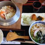 お加山 - 釜めし定食