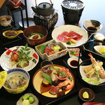 四季七彩こころ   - 会席料理
