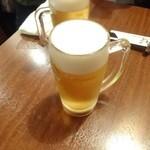 42474117 - 生ビール@450円