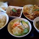 Daimonshuka - 日替わり定食は回鍋肉でした。