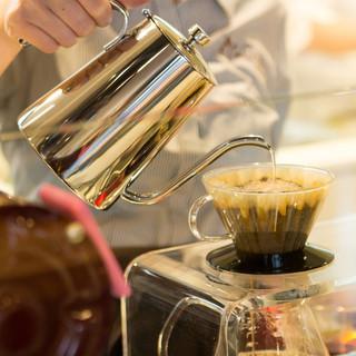 世界最高峰のコーヒーをお出ししています