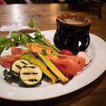 42495157 - 湘南地野菜のバーニャカウダ