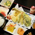 殿 - 料理写真:ランチ(天ぷら)