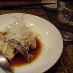 西安餃子 小桃の里 - もんごういかの黒酢炒め