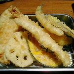 425489 - 山定食の天ぷら