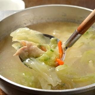 とり野菜スープ