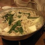 日本男児 - もつ鍋です。