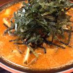 節系とんこつらぁ麺 おもと - 情熱の明太子きのこラーメン限定麺850円