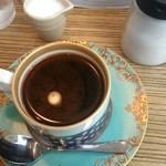 42535559 - ホットコーヒー。味もさることながら香りも素晴らしい。