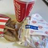 佐世保バーガー - 料理写真:バリューセットは佐世保バーガーと飲み物、ポテトのセットで1080円でした。