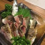 居酒屋 さんぼん木 - 秋刀魚炙り焼き