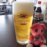 かましま - 生ビール 500円