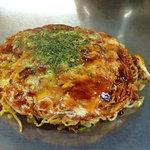 Okonomiyakiandotempanyahibiki - そば肉玉(650円)