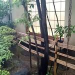 石ばし - 竹の先にある小部屋