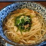 きた川 - あおさのアッサリ麺