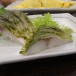まる福 - 〆鯖は定番の旨さ