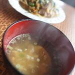 コーヒーハウス 美鈴 - 玉スープ