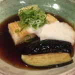 美糸 - ☆揚げ出し豆腐はお茄子も美味しい☆