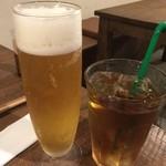 美糸 - ☆生ビールとウーロン茶で乾杯です☆