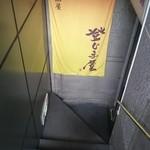 久松屋 - 入口 地下になります