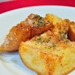 鉄板焼きバール ピアチェーレ - つゆだくガーリックトースト