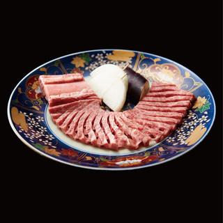 料理大人気の華網カルビ