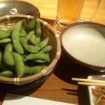 茶花茶花 - 枝豆 300円 温かい