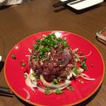 鶏と野菜のワイン食堂 TOSAKA - 鶏のタタキ