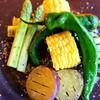 ディ グロット タマザワ - 料理写真:季節野菜のグリル
